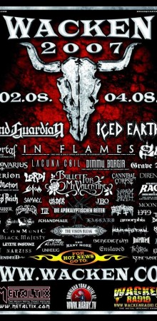 Vegas to Germany: My Wacken Open Air Experience 2007!!