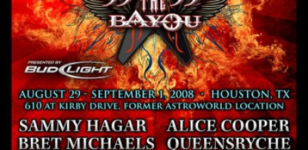 Aug 29-Sept 1st ROCK THE BAYOU in Houston Texas!