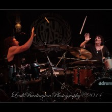 Drum Wars with Carmine and Vinnie Appice @ Vampd 7/26/14