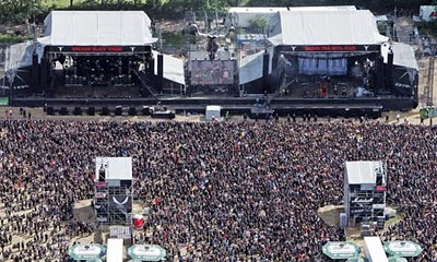 Wacken Open Airs stages