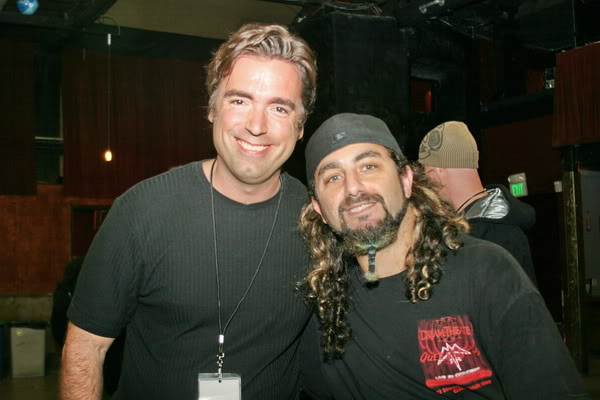 The Promoter of the fest Dave and Mike Portnoy!!