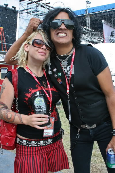 Marc Torien and Alicia Blu of Cockpit!!