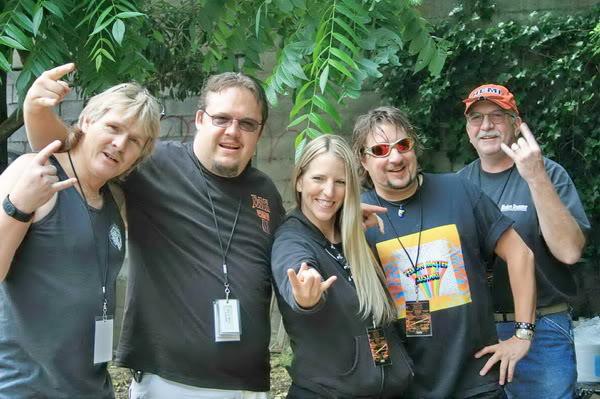 Greg,Bear,Me,Talyor and Scott!